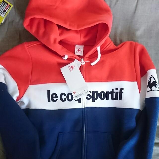 le coq sportif(ルコックスポルティフ)のルコック パーカー トリコロール 新品 レディースのトップス(パーカー)の商品写真