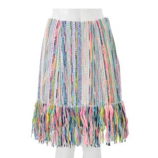 チェスティ(Chesty)のChesty Miss Adora ミックスツイードスカート(ひざ丈スカート)