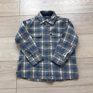 ラルフローレン(Ralph Lauren)のラルフローレン ネルシャツ 子供用100センチ(ブラウス)