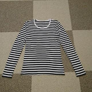 ムジルシリョウヒン(MUJI (無印良品))のあおい様専用⭐美品!無印良品⭐クールネック長袖Tシャツ XS(Tシャツ(長袖/七分))