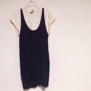 シェル(Cher)のlucca couture C/Sワンピ(ミニワンピース)