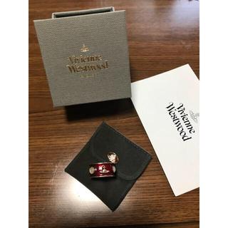 ヴィヴィアンウエストウッド(Vivienne Westwood)のヴィヴィアン  キングリング、赤(廃盤旧型デザイン)(リング(指輪))