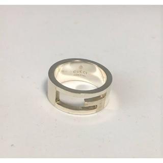 グッチ(Gucci)の【美品】 グッチ Gロゴ リング SV925 シルバー 11号(リング(指輪))
