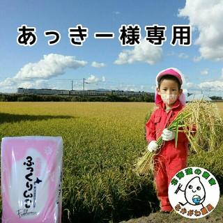あっきー様専用 29年産 北海道米 ふっくりんこ 5キロ(米/穀物)