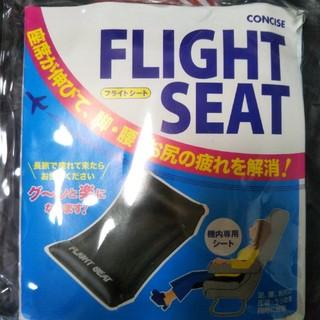 フライト用シート&フットレスト(旅行用品)