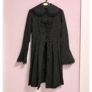 ヴィクトリアンメイデン(Victorian maiden)のvictorian maiden セレモニーバッスルジャケットドレス ブラック(その他)