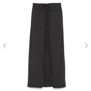フレイアイディー(FRAY I.D)の人気商品 レースアップタイトスカート フレイアイディー(ロングスカート)