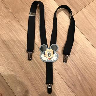 ディズニー(Disney)の【早い者勝ち】ディズニー ミッキー子供用サスペンダー(ベルト)