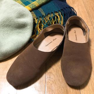サマンサモスモス(SM2)のぺたんこ シューズ(スリッポン/モカシン)