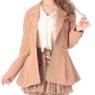 リズリサ(LIZ LISA)のLIZ LISA 刺繍ジャケット(テーラードジャケット)