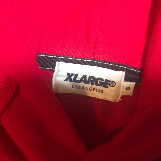 XLARGE(エクストララージ)のマッチさん専用 XLARGE フード付きパーカー レディースのトップス(パーカー)の商品写真