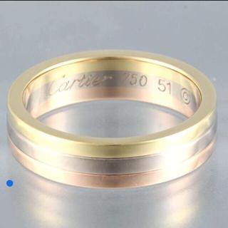 カルティエ(Cartier)の♡ちこ様お取り置き中♡Cartier スリーゴールド ウェディング リング(リング(指輪))