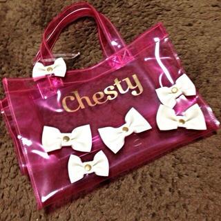 チェスティ(Chesty)のchesty♡大人気ビニールバック(エコバッグ)