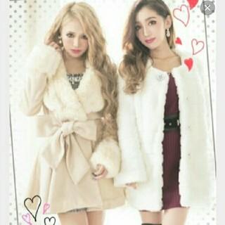 リュクスローズ(Luxe Rose)のリュクスローズ コート(毛皮/ファーコート)