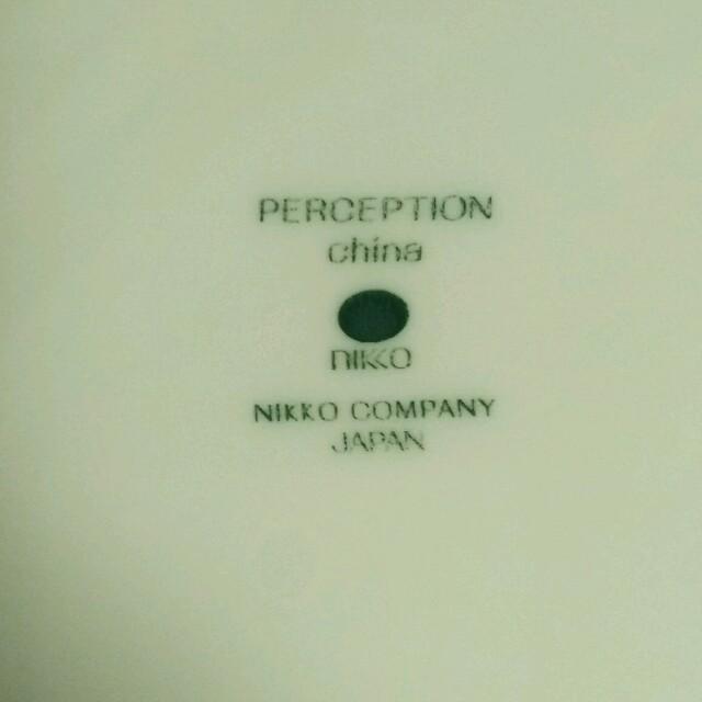 NIKKO(ニッコー)の値下げ!nikko perception chinaディナープレート インテリア/住まい/日用品のキッチン/食器(食器)の商品写真