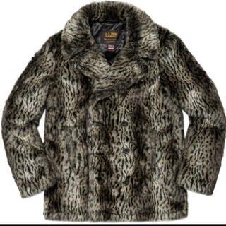 シュプリーム(Supreme)のSupreme®/Schott® Fur Peacoat 超希少 レオパードS(ピーコート)