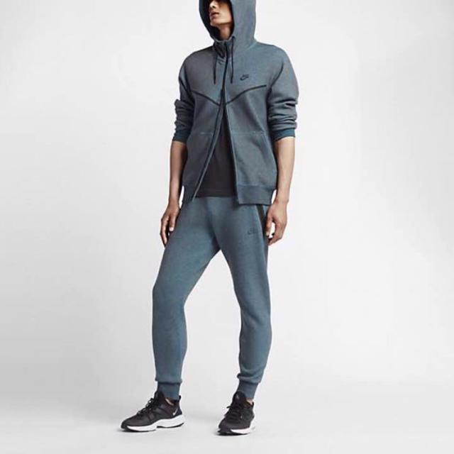 NIKE(ナイキ)の【NIKE】NikeLab Tech Fleece Kim Jones ブルー メンズのトップス(パーカー)の商品写真