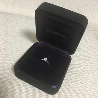 ティファニー(Tiffany & Co.)の0.5カラット 婚約指輪(リング(指輪))