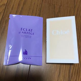 クロエ(Chloe)のミニ香水セット☆ランバン、クロエ(香水(女性用))