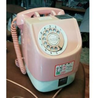 ピンク 公衆電話(電話台/ファックス台)