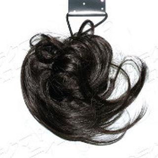 シマムラ(しまむら)の2個セット しまむら ミニシュシュ ウィッヴ ダークブラウン つけ毛 かつら(その他)