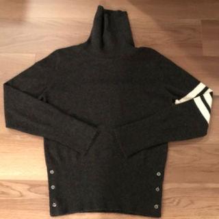Thom Browneトムブラウンカシミヤニットセーターグレーサイズ00新品(ニット/セーター)