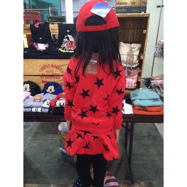 【韓国子供服】ミニーちゃん セットアップ★ キッズ/ベビー/マタニティのキッズ服 女の子用(90cm~)(その他)の商品写真