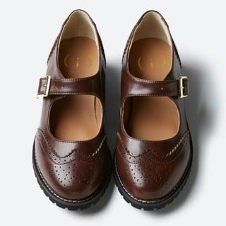 ハコ(haco!)の【haco!】ウイングチップシューズ【未使用】(ローファー/革靴)