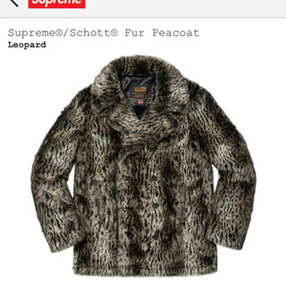 シュプリーム(Supreme)のLサイズ supreme fur peacort(ピーコート)