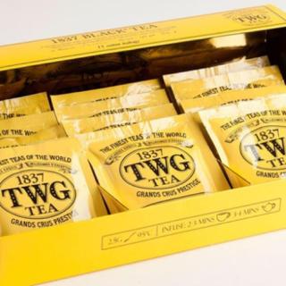 ♡TWG♡1837 Black Tea コットン ティーティーバッグ(茶)