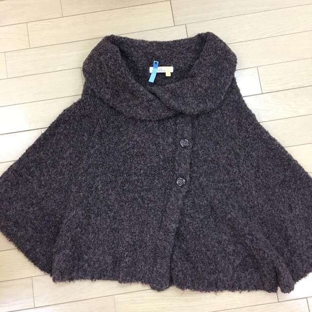 ikka(イッカ)のikka ショートコート レディースのジャケット/アウター(ニットコート)の商品写真