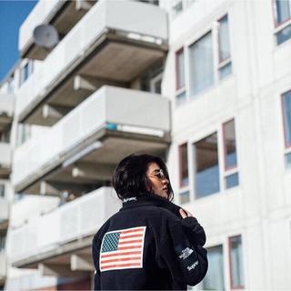 シュプリーム(Supreme)のSUPREME×tnf Expedition Fleece jacket(ブルゾン)