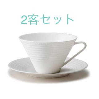 ニッコー(NIKKO)の【uuushi様専用】NIKKO ティーカップ&ソーサー2客 PULSEシリーズ(グラス/カップ)