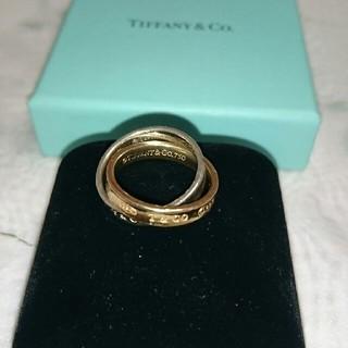 ティファニー(Tiffany & Co.)のソフィ様専用です☆ティファニー  リング K18 &シルバー(リング(指輪))