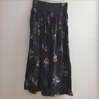 ロキエ(Lochie)のvintage skirt(ロングスカート)