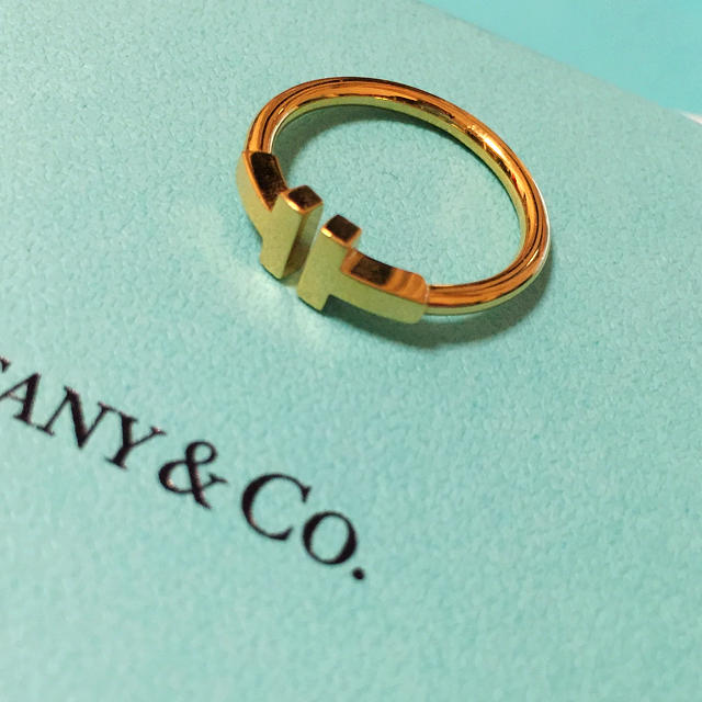 Tiffany & Co.(ティファニー)のティファニー Tリング 16号!年内まで! メンズのアクセサリー(リング(指輪))の商品写真