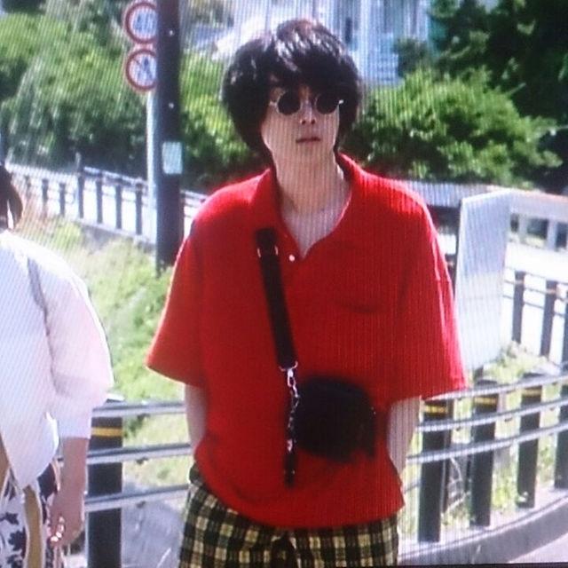 菅田将暉 校閲ガール着用 ビッグポロシャツ L 新品タグ付