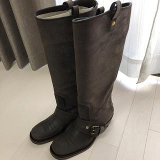 ボッテガヴェネタ(Bottega Veneta)の正規品BOTTEGA VENETA ロングブーツ(ブーツ)