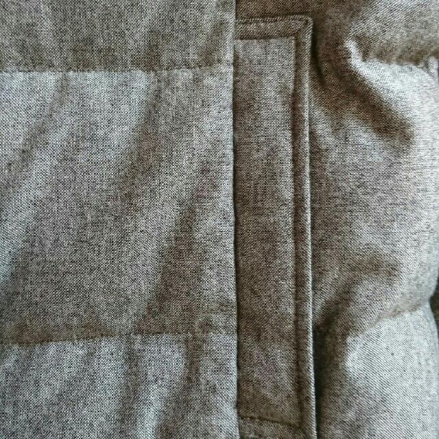 23区(ニジュウサンク)の[新品] 23区 ダウン(ツイード生地) ブラウン レディースのジャケット/アウター(ダウンジャケット)の商品写真