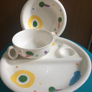 タチキチ(たち吉)のたち吉 ベビー食器 セット プレートお皿値下げ(プレート/茶碗)