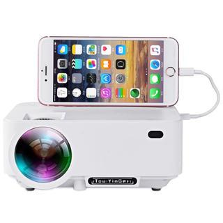 iPhone対応家庭用プロジェクター(プロジェクター)
