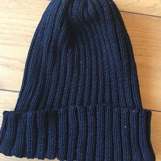 新品未使用 ディスカバード 黒ニット帽