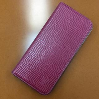 ルイヴィトン(LOUIS VUITTON)の希少なエピ iPhoneケース iPhone6  (7)ルイヴィトン 直営店購入(iPhoneケース)
