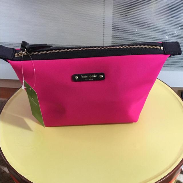 kate spade new york(ケイトスペードニューヨーク)の♡ケイトスペード ポーチ ピンク 新品♡ レディースのファッション小物(ポーチ)の商品写真