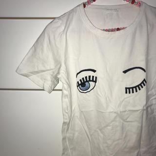 ミックスエックスミックス(mixxmix)の韓国 白T(Tシャツ(半袖/袖なし))