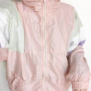 スピンズ(SPINNS)のシャカシャカ ジャケット ピンク 羽織り(その他)