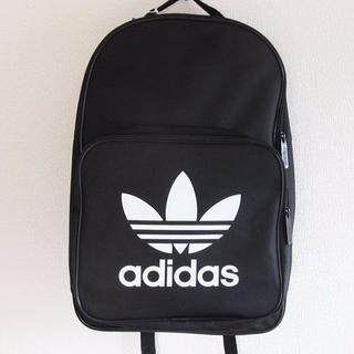 アディダス(adidas)のadidas今期新品アディダスオリジナルスリュック黒バックパック ブラック(バッグパック/リュック)
