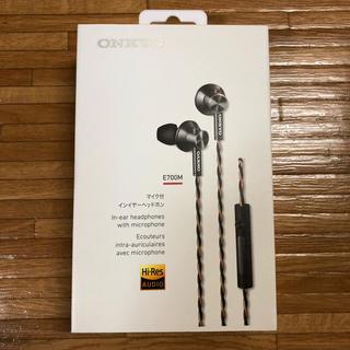 オンキヨー(ONKYO)のsuzu様 ONKYO E700M マイク付きインイヤーヘッドホン(ヘッドフォン/イヤフォン)