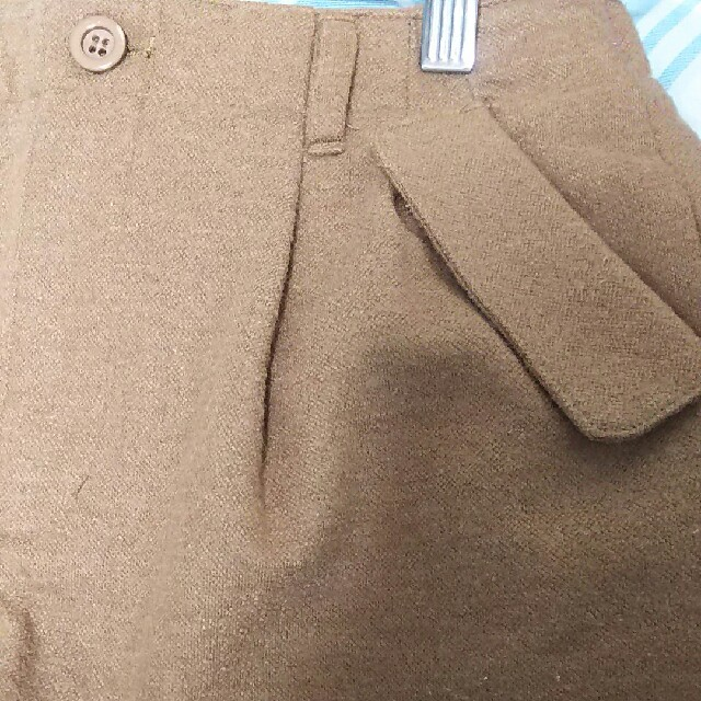PAGEBOY(ページボーイ)のページボーイショートパンツ ベージュ レディースのパンツ(ショートパンツ)の商品写真