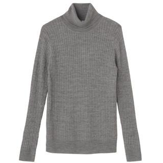 ムジルシリョウヒン(MUJI (無印良品))の [タグ付き] 今季 洗えるタートルネック ケーブル編み(ニット/セーター)